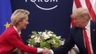 Trump y Von der Leyen acuerdan trabajar para llegar rápido a un acuerdo comercial