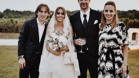Luka Modric y compañeros de la Selección celebran la boda del año en Croacia