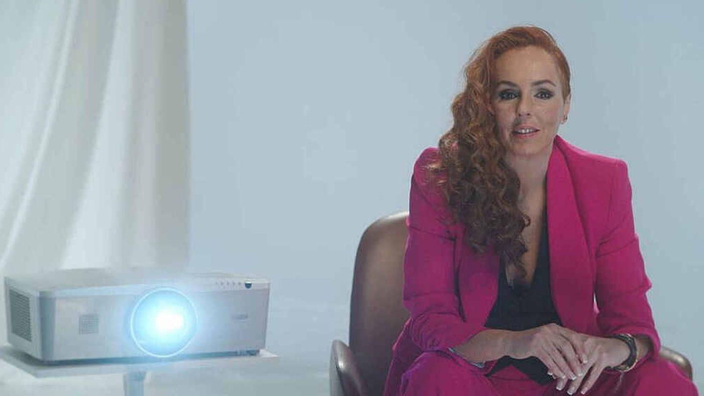 Rocío Carrasco, en 'Rocío, contar la verdad'. (Mediaset)