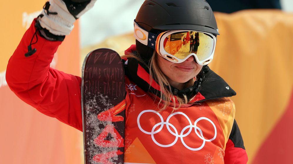 Foto: Elizabeth Marian Swaney, deportista olímpica a pesar de todo. (Reuters)