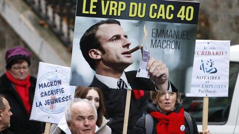 Las bolsas recogen beneficio tras una victoria más que descontada de Macron