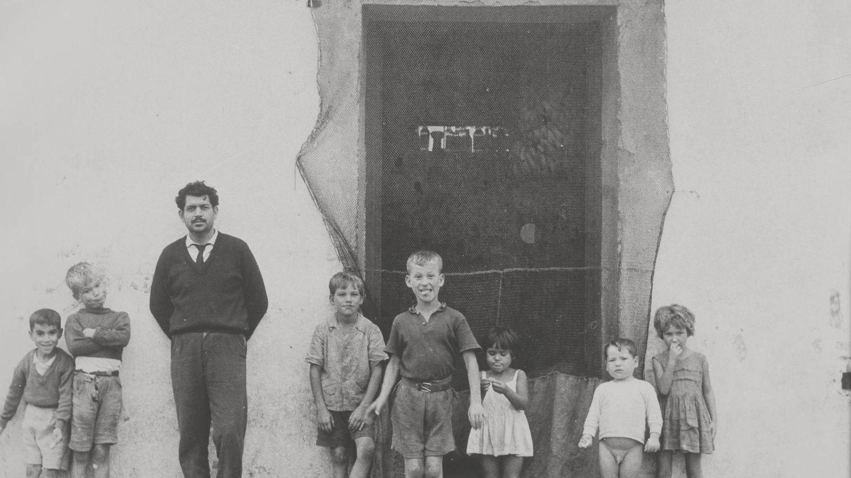 Una familia andaluza en los 60.