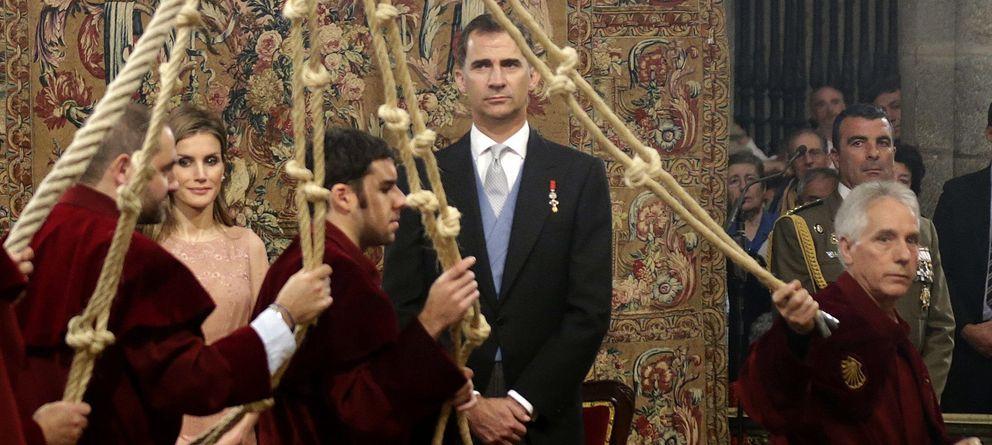Foto: El Rey Felipe VI en una imagen de archivo en un acto oficial en Santiago de Compostela (Gtres)