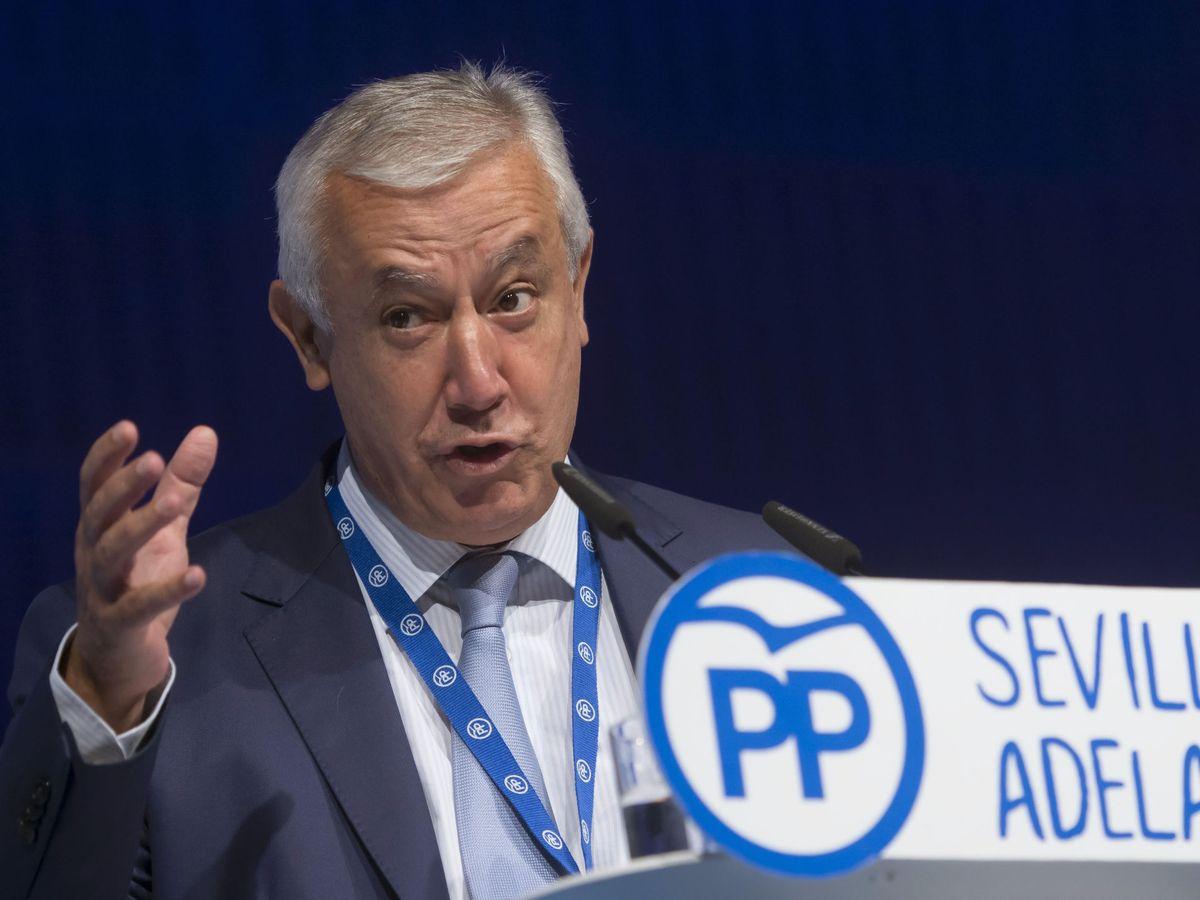 Foto: El presidente de honor del PP-A, Javier Arenas. (EFE)