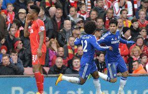 El guerrero Diego Costa conquista Anfield y Mata da vida al United
