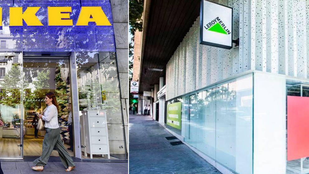 Ikea y Leroy Merlin arrancan la batalla por conquistar el centro de Madrid