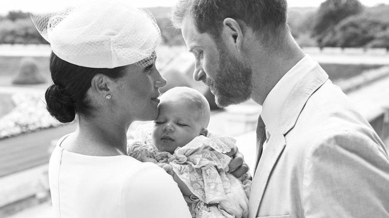 Meghan Markle con el pequeño Archie. (Sussex Royal)