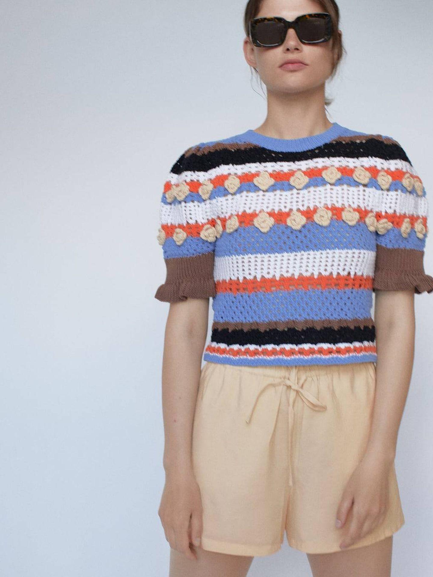 El jersey de Zara. (Cortesía)