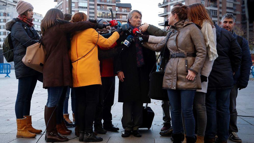 Foto: Última sesión del juicio contra La Manada. (Efe)