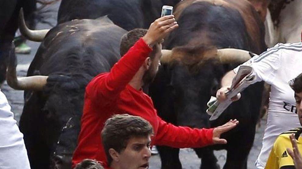 La policía de Pamplona, en busca del autor del 'selfie' en Sanfermines