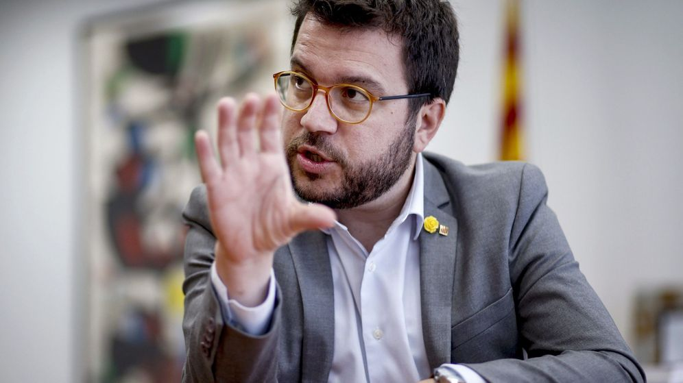 Foto: El 'conseller' de Economía y Hacienda de la Generalitat, Pere Aragonès. (EFE)