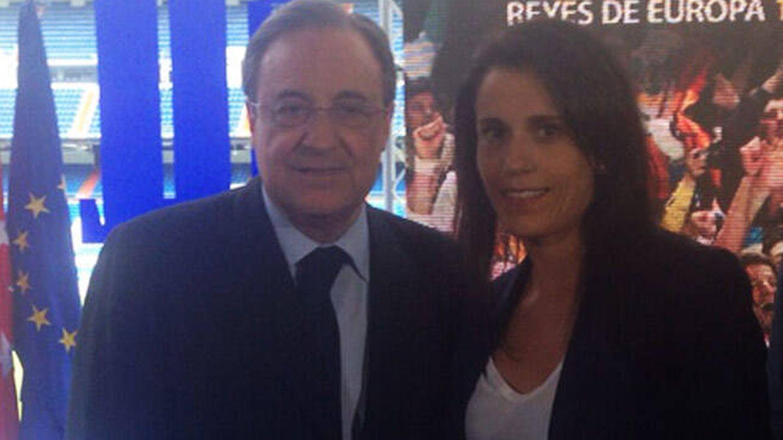 Florentino Pérez y Ana Rossell, en una imagen de archivo