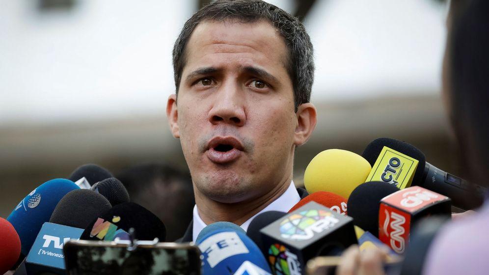 Foto: El líder opositor Juan Guaidó. (EFE)