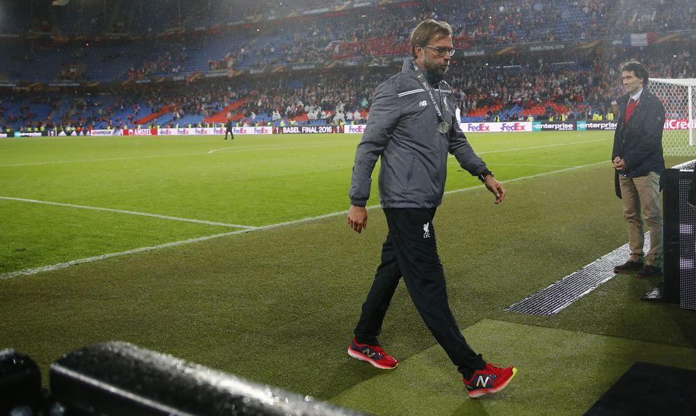 Foto: Klopp ha perdido cinco finales (Michael Dalder/Reuters)