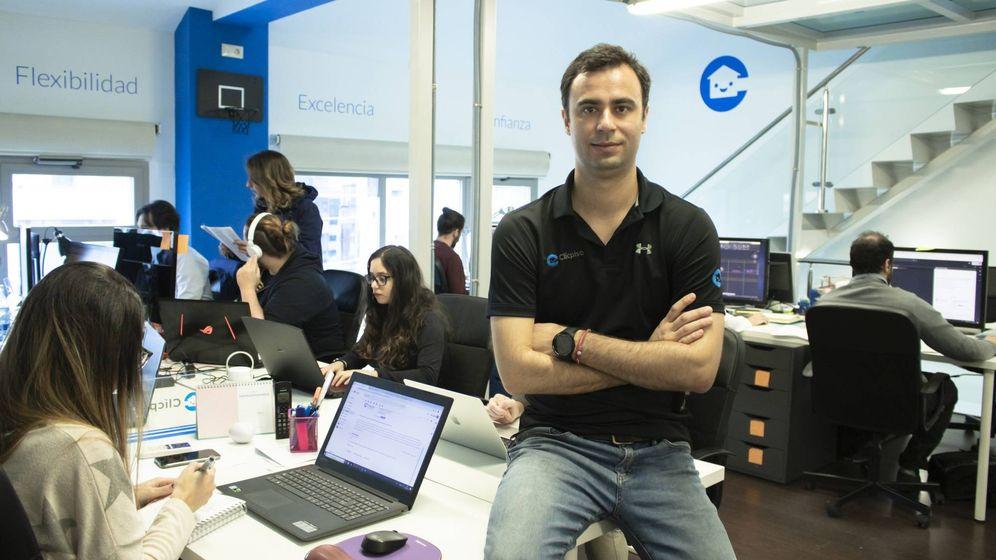 Foto: Francisco A. Moreno, CEO y fundador de Clicpiso.