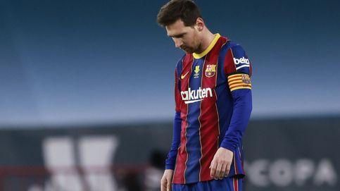 El Athletic, supercampeón de España en una final con prórroga y agresión de Messi (2-3)