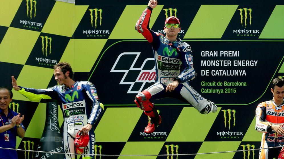 Foto: Jorge Lorenzo consigue su cuarta victoria seguida esta temporada (Efe).
