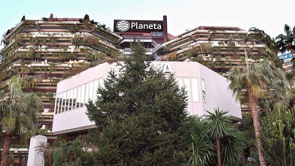 Foto: Sede en Barcelona del Grupo Planeta