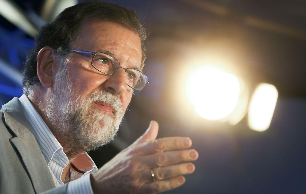 Foto: Mariano Rajoy clausura la reunión interparlamentaria del PP. (Kai Försterling / Efe)