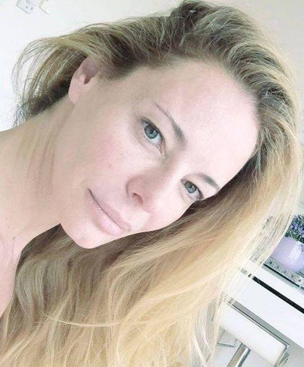 Foto: Paula Vázquez con la cara lavada (Instagram)