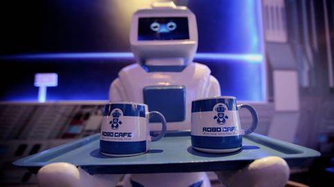 Morta, el primer robot camarero