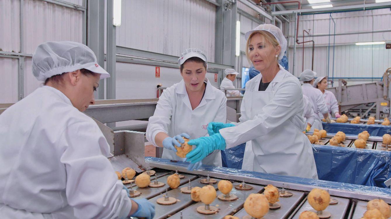Norma Duval será una operaria en una fábrica de membrillo en 'Trabajo Temporal'