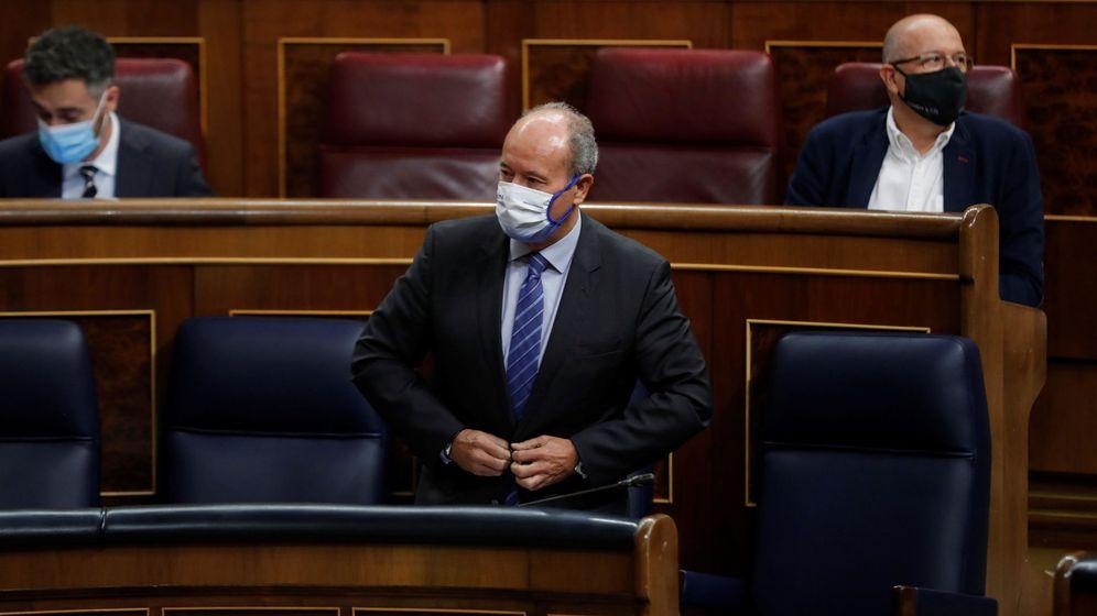 Foto: El ministro de Justicia, Juan Carlos Campo, en el Congreso. (EFE)