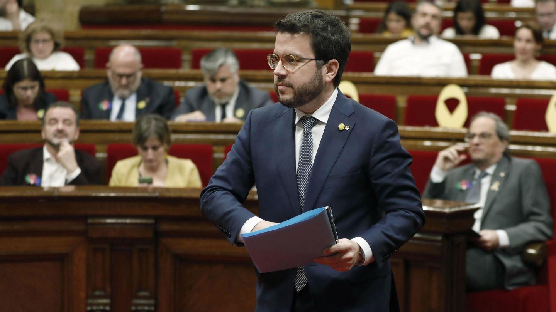 El vicepresidente de la Generalitat, Pere Aragonés. (EFE)