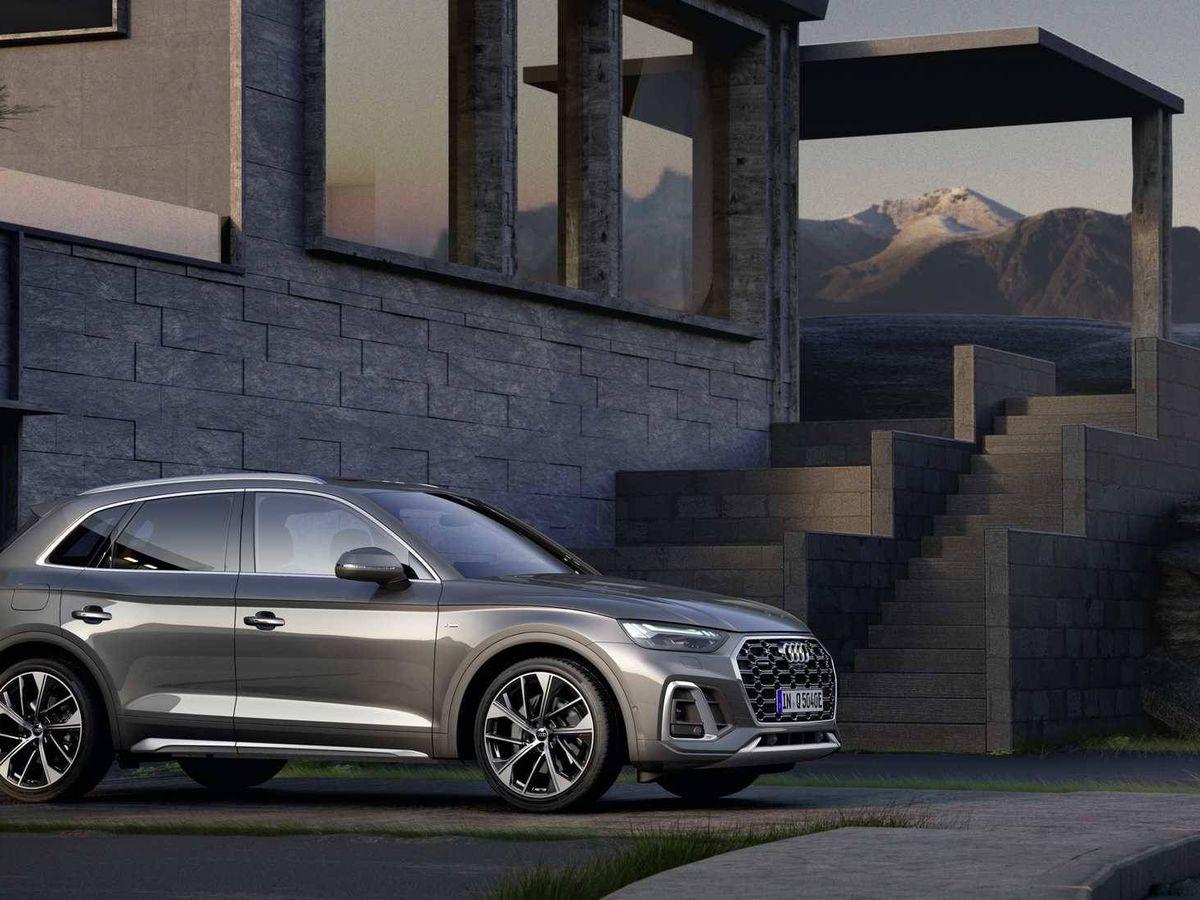 Foto: El Audi Q5 enchufable está disponible con carrocería normal y con la Sportback más deportiva.