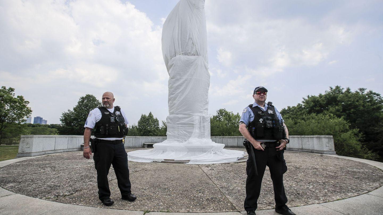 Policías en Chicago. (Reuters)