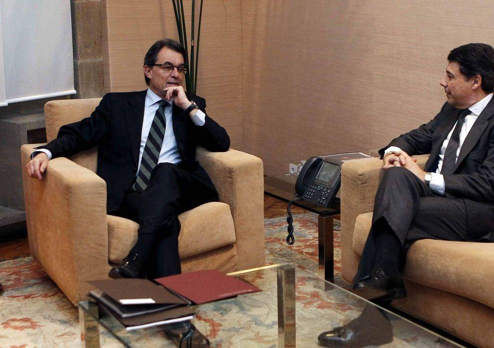 Foto: Artur Mas e Ignacio González. (EFE)