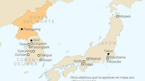 Estos son los objetivos que Corea del Norte se ha fijado para un ataque nuclear