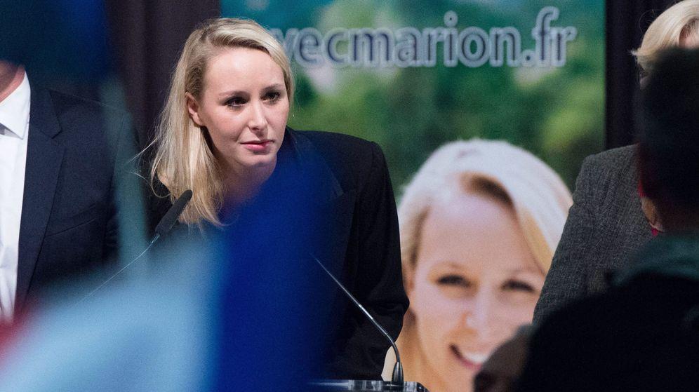 Foto: Marion Marechal Le Pen, candidata del FN y sobrina de Marine Le Pen, valora los resultados. (Reuters)