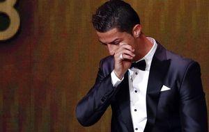 El lloro de CR7 y la enhorabuena de Messi se salvan de la hipocresía