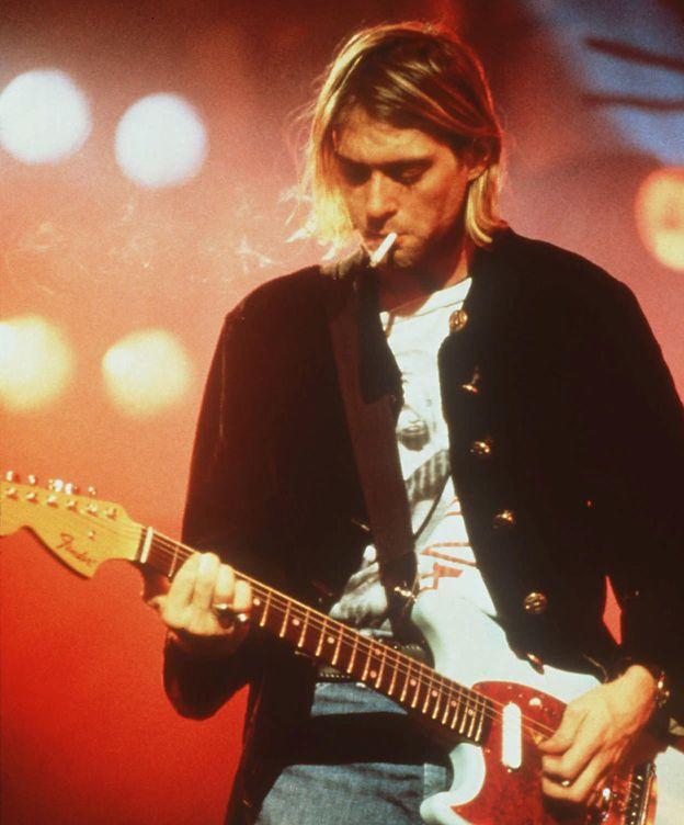 Foto: Kurt Cobain en una imagen de archivo (Gtres)