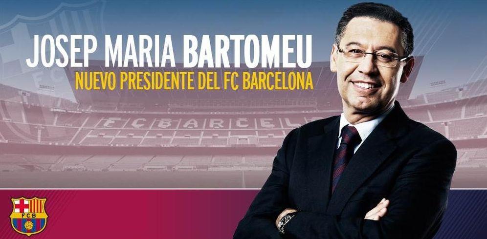 Foto: Bartomeu, elegido presidente del Barcelona