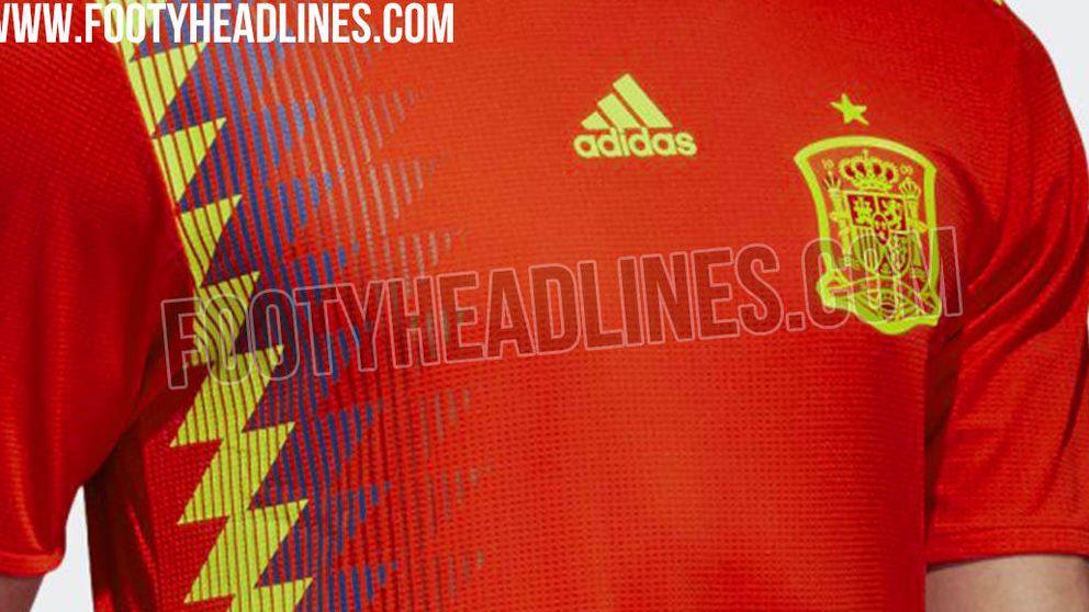 La camiseta 'republicana' que llevará España en el Mundial de Rusia 2018