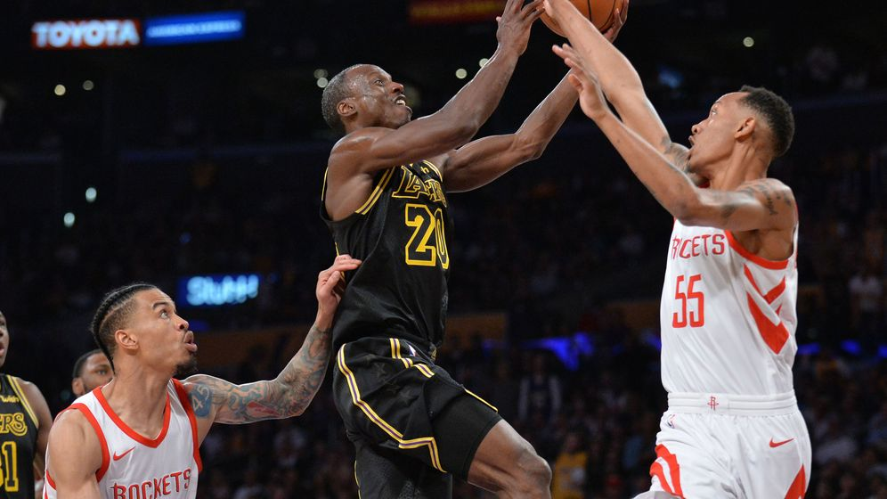 Foto: Andre Ingram arrasó en su primer partido en la NBA contra los Houston Rockets (Reuters)