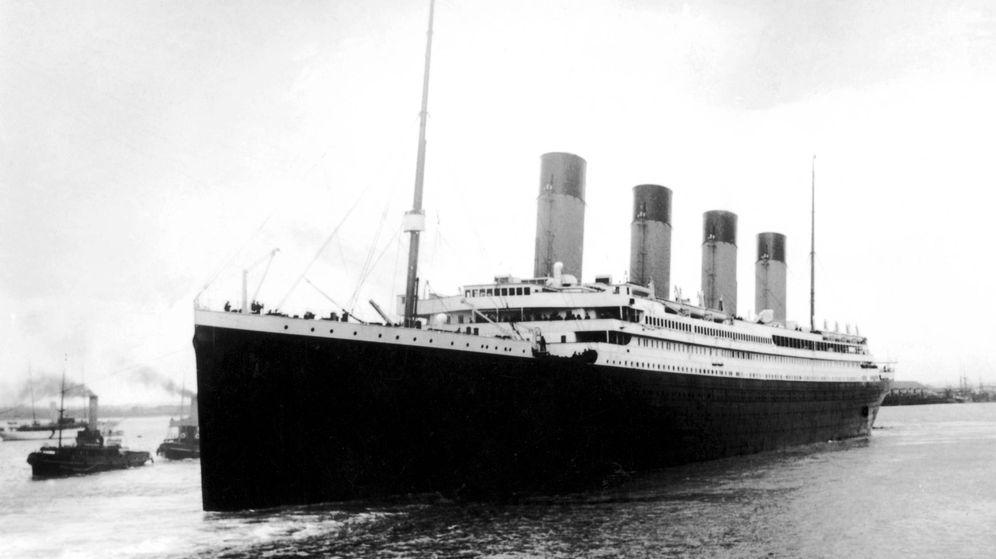 Foto: El Titanic zarpa desde Southampton hasta su destino. (Cordon Press)