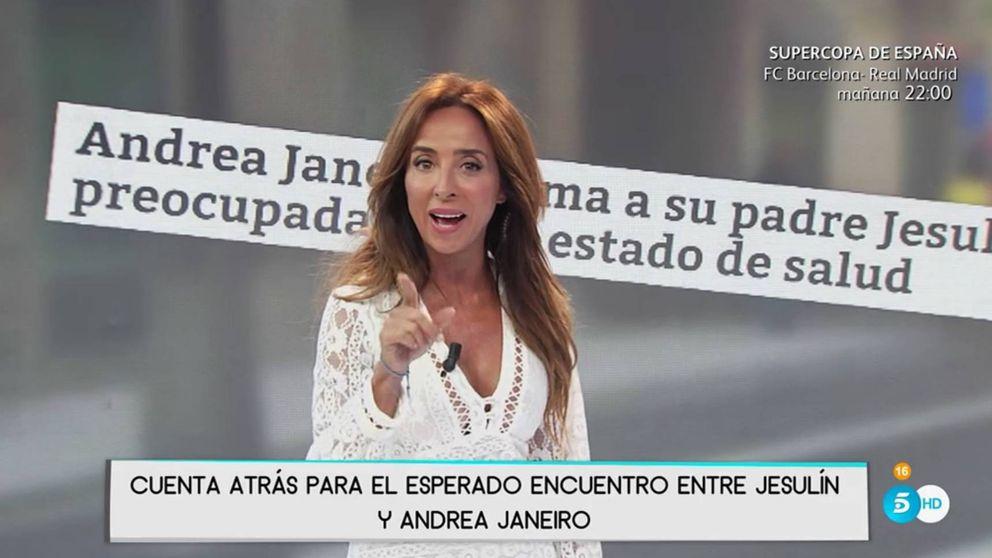 Patiño desmiente la conversación entre Andrea Janeiro y Jesulín