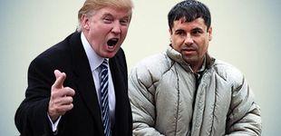 Post de Chapo Guzmán vs Donald Trump, el combate del siglo