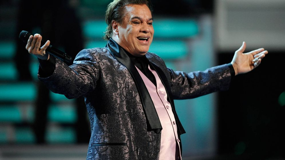 Foto:  Juan Gabriel, en los Grammy Latinos. (Getty)