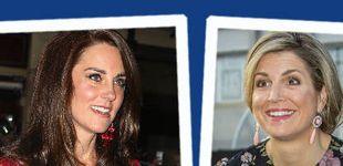 Post de Estilo Real: la alegoría a la primavera de Máxima y el look glamouroso de Kate