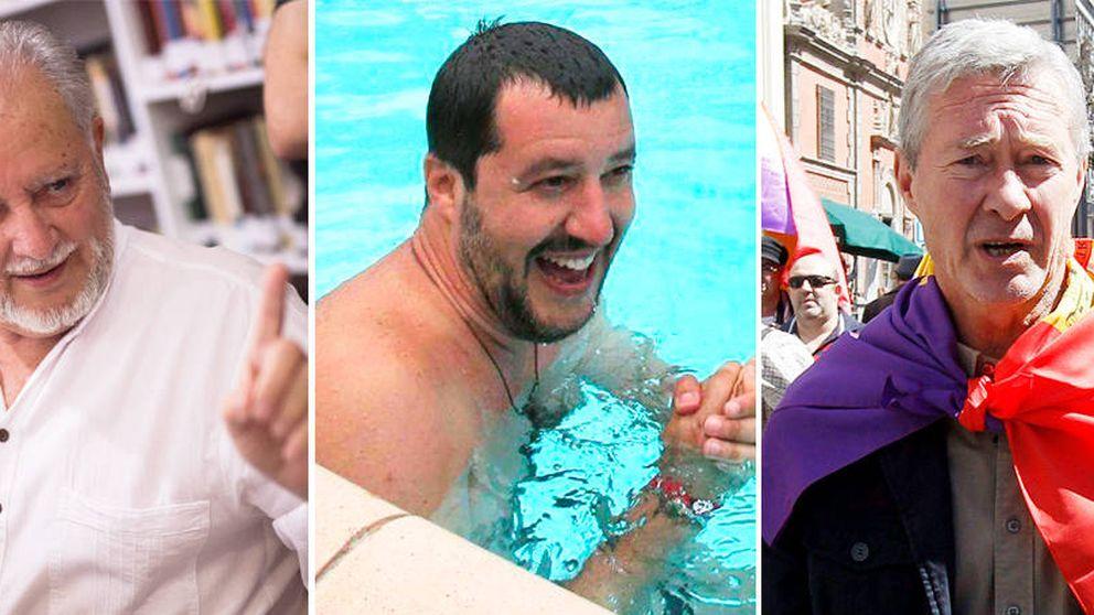Monereo y Anguita crearán una corriente en Podemos que conecta con Salvini
