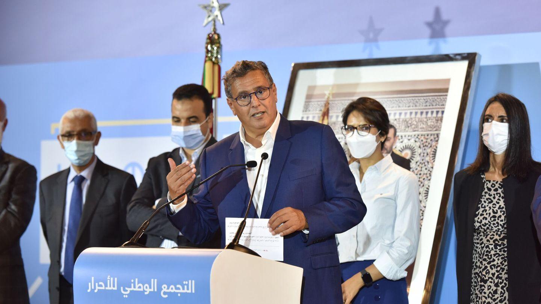 El 9 de septiembre, dando un discurso después de que su partido ganase las elecciones. (EFE)