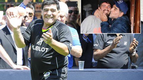 ¡Por fin! Maradona reconoce a su hijo, Diego Maradona Jr, 30 años después