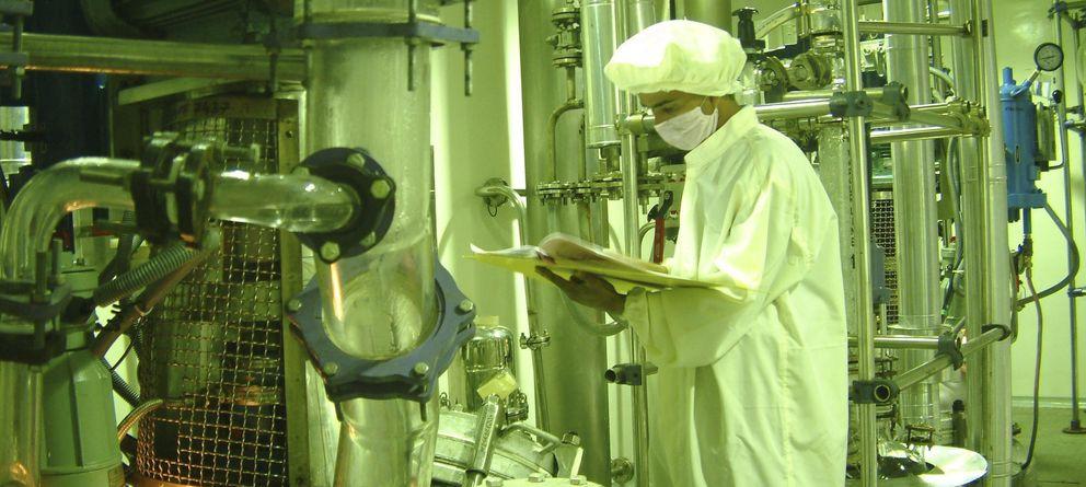Foto: Imagen de un laboratorio farmacéutico. (Efe)