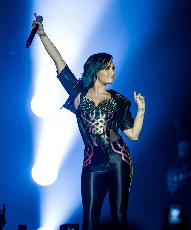 Foto: Demi Lovato durante una actuación (Gtres)