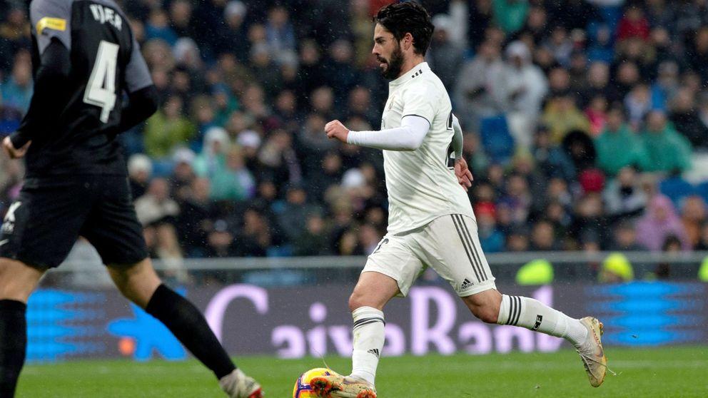 El desplante de Isco a Chendo tras jugar solo unos minutos en el Real Madrid-Alavés