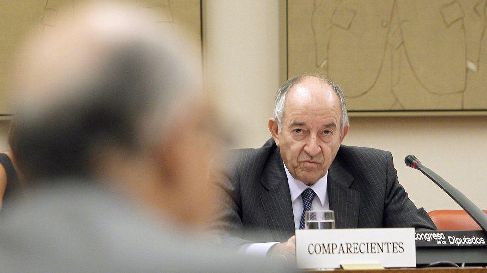 Foto: El exgobernador del Banco de España, Miguel Angel Fernández Ordóñez. (EFE)